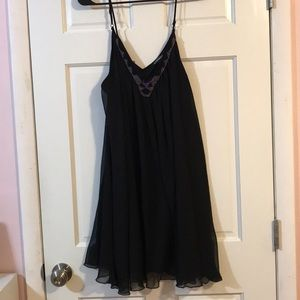 Stunning black Express dress great for a night out
